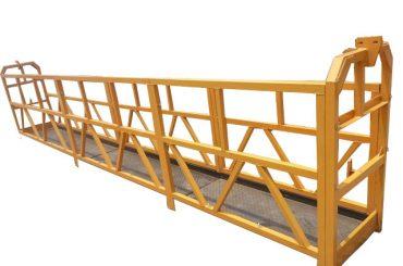 rep hängande upphängd plattform, zlp630 konstruktion lyft gondol maskin