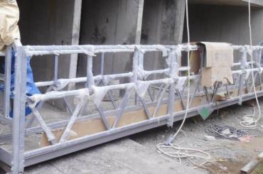 högt säkerhetslängt upphängt plattformslängd 300m för målning